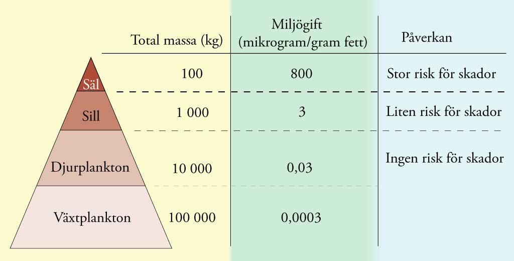 organiska miljögifter exempel